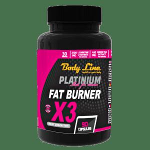 FAT BURNER X3 - arzătoare grăsimi, supliment de slăbit