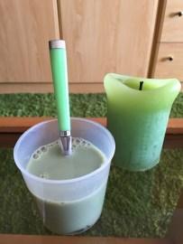 里の青汁と牛乳