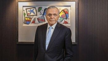 """Isidro Fainé, presidente de Fundación """"la Caixa"""""""