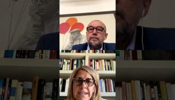 Núria Cabutí, Consejera delegada de Penguin Random House, charla con Andrés Rodríguez