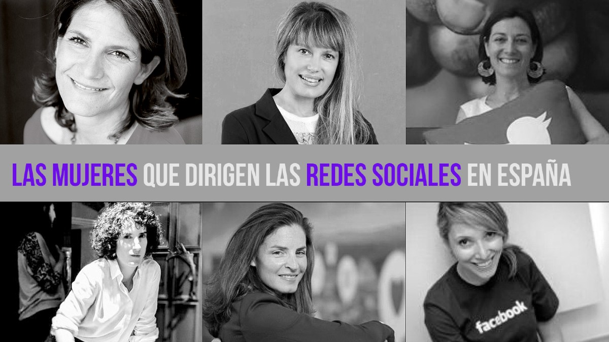 Las mujeres que dirigen las RRSS en España