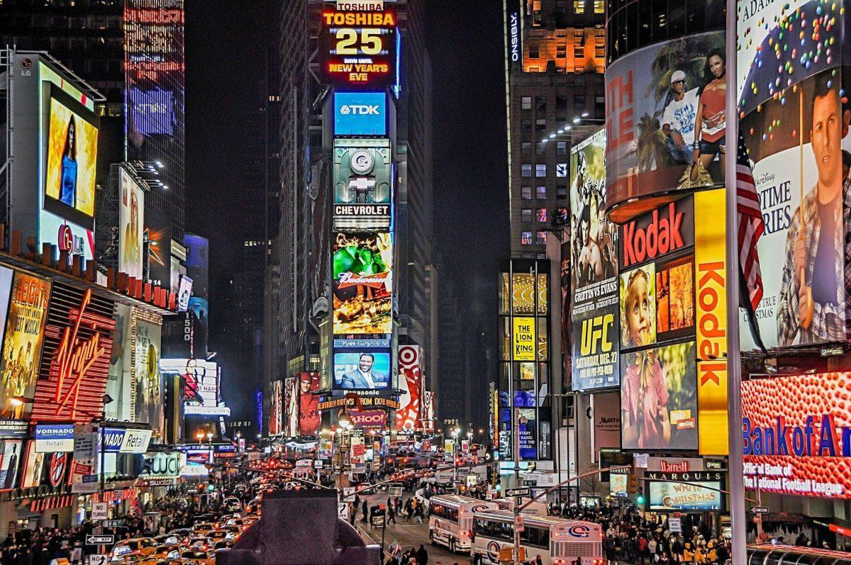 Publicidad Times Square Nueva York