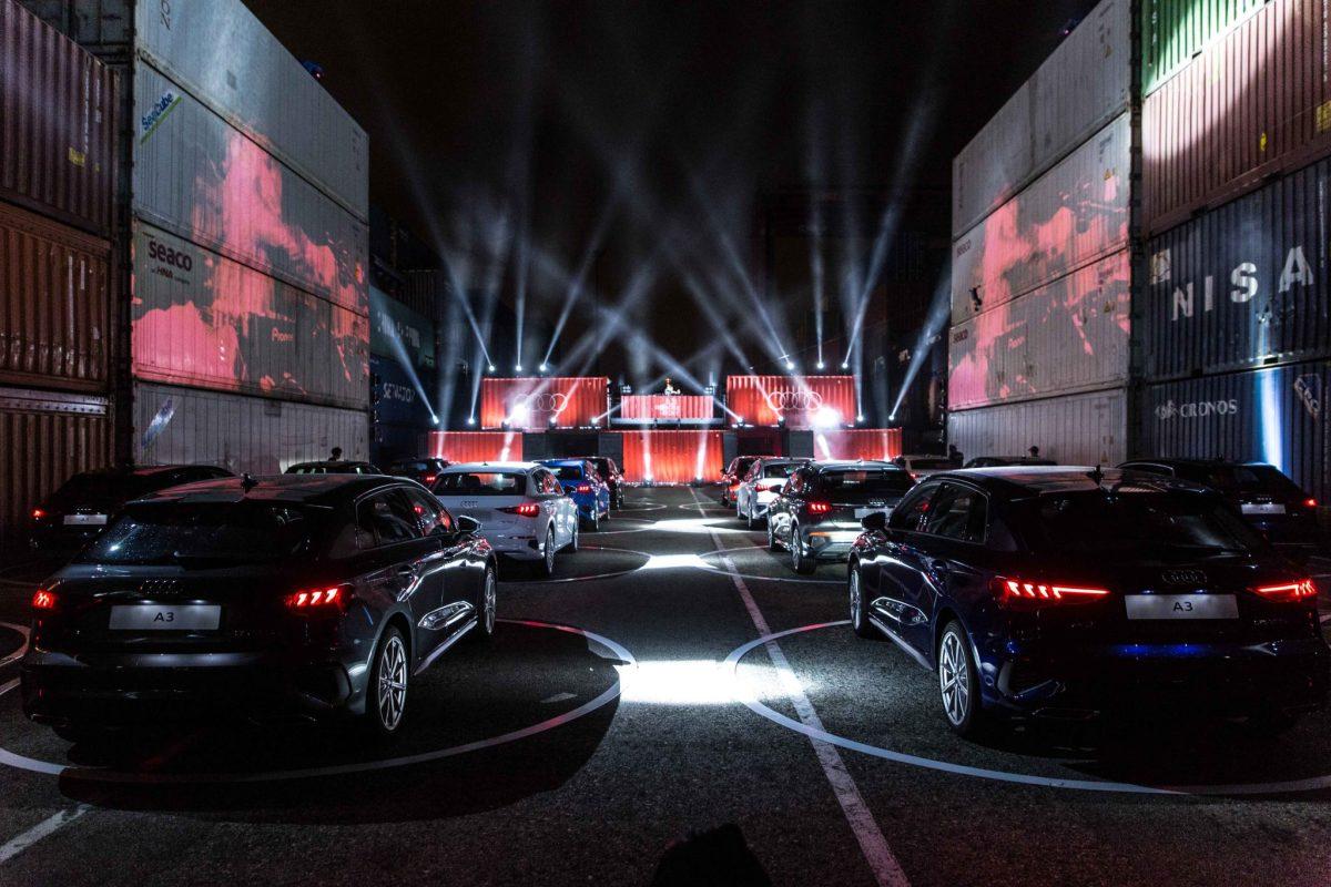 Audi presenta el nuevo A3 Sportback de la mano de Bob Sinclar