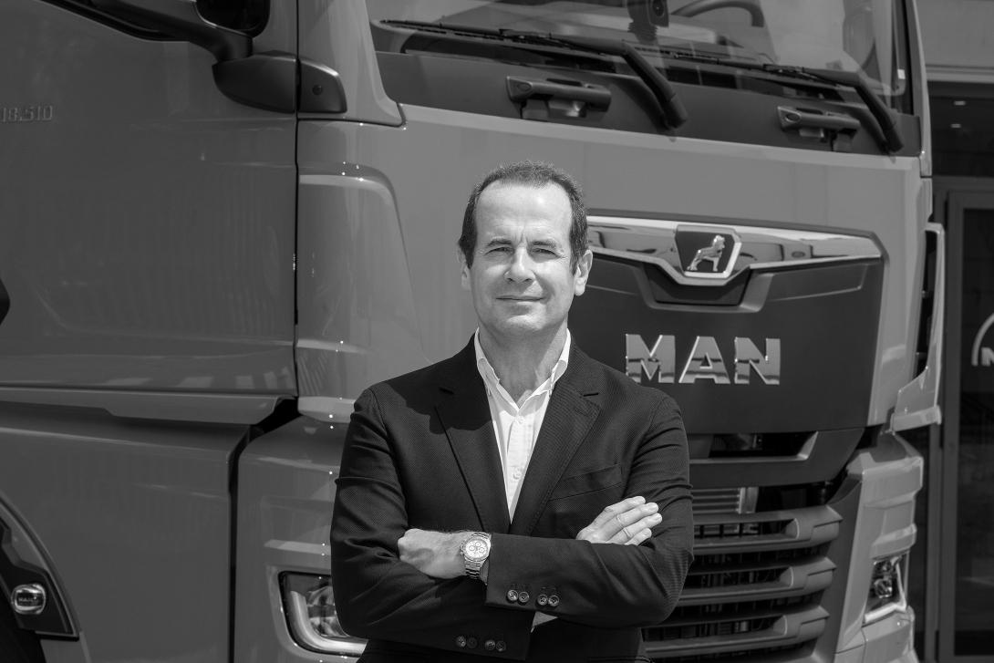 Stéphane de Creisquer, director general de MAN Truck & Bus Iberia