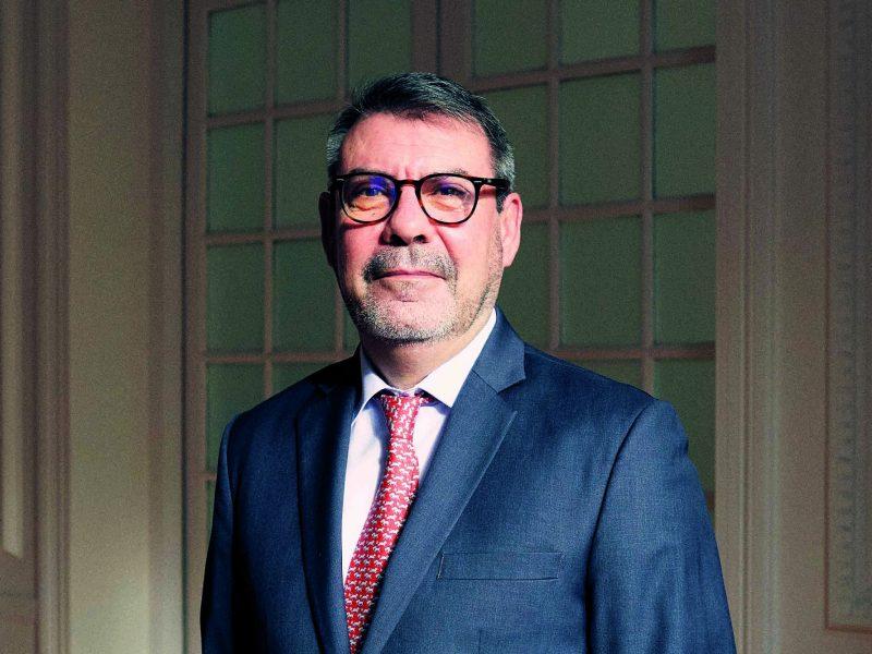 Domingo Torres, director en España y Portugal de la sucursal de Lazard Fund Managers. Foto: Jacobo Medrano