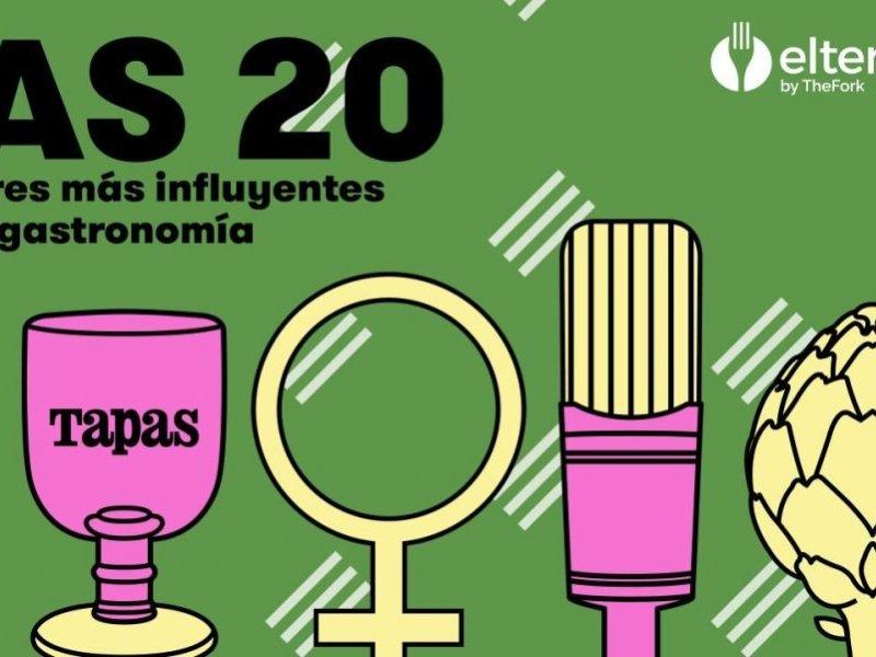 Las 20 mujeres más influyentes de la gastronomía según la revista Tapas 2021