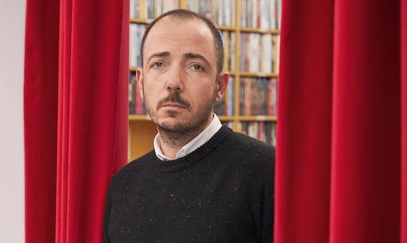 Jaume Ripoll, responsable editorial y de contenidos de Filmin, en las oficinas de la compañía. Foto: Xavi Torres-Bacchetta