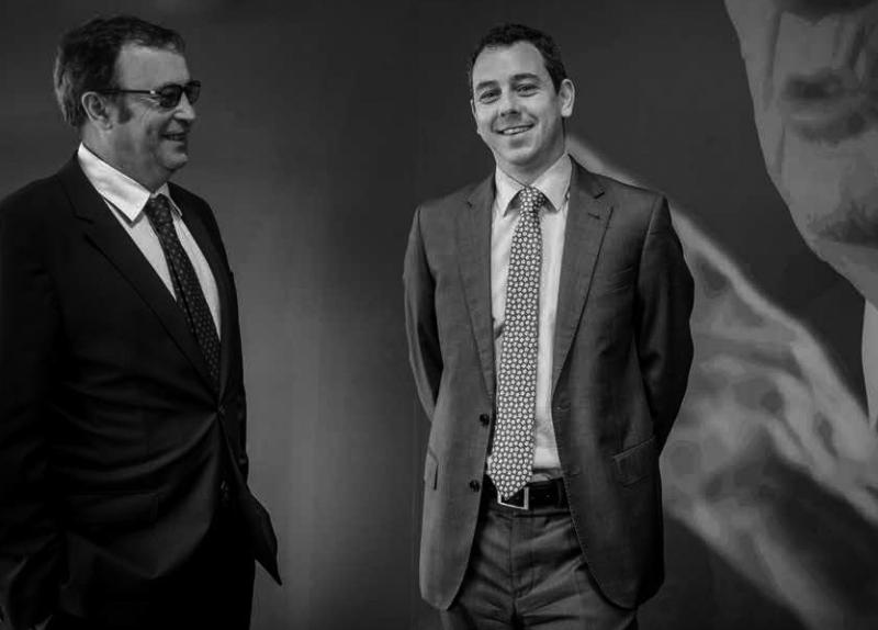 Raimon Grifols Roura y Víctor Grifols Deu, consejeros delegados de Grifols