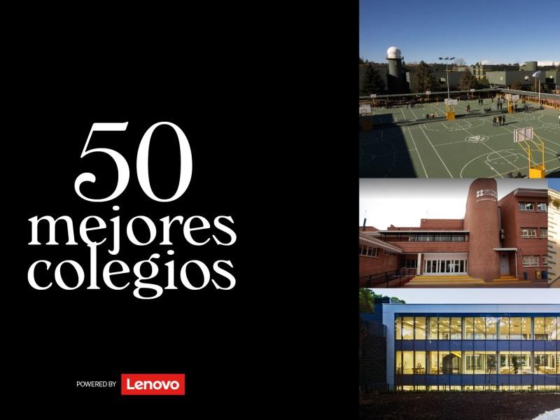 Los 50 mejores colegios de España 2021