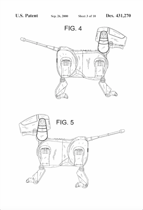 Patente Toy Sony