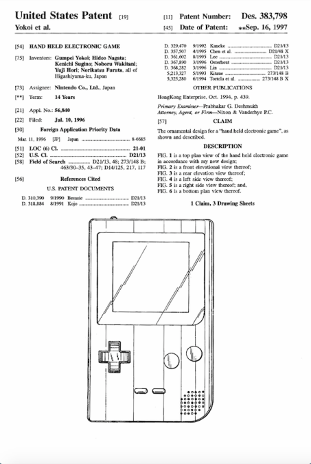 Patente Nintendo
