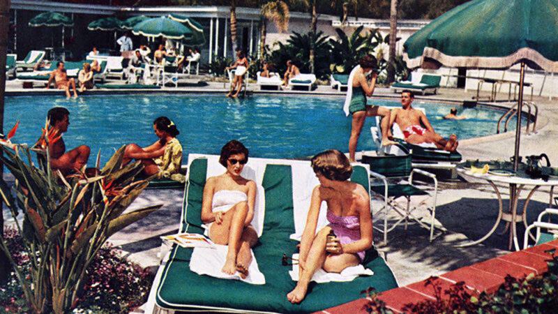 Piscina Hotel Bel-Air 1951