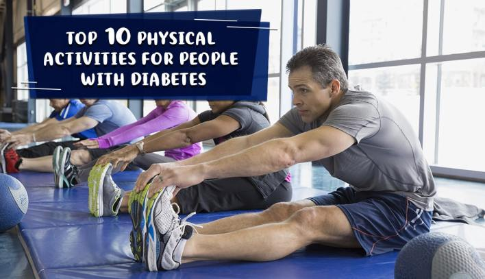 Top 10 Physical Activities for People with Diabetes