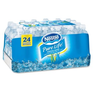 NLE101264 Bottled Water
