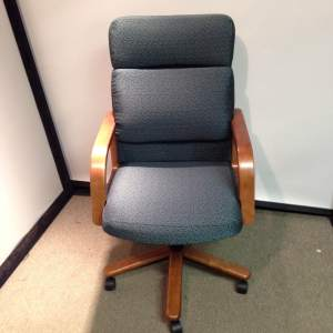 Hon High-back Office Chair, patterned fabric $149