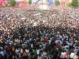 foule chinoise