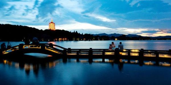 Lake Of Hangzhou China West lake