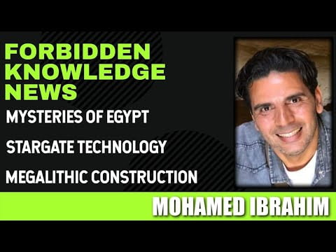mysteries of egypt stargate technology megalithic construction with mohamed ibrahim