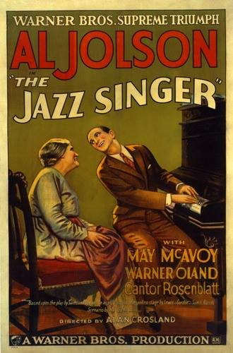 The Jazz Singer: poster from 1929
