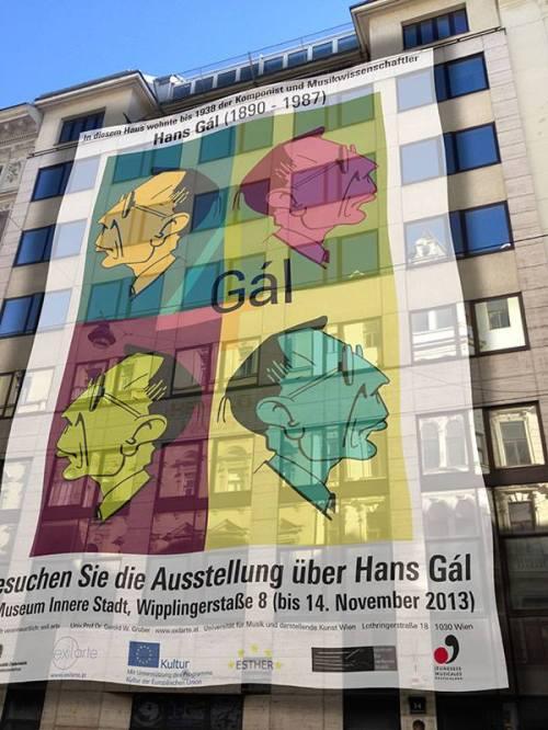 Hans Gál event banner