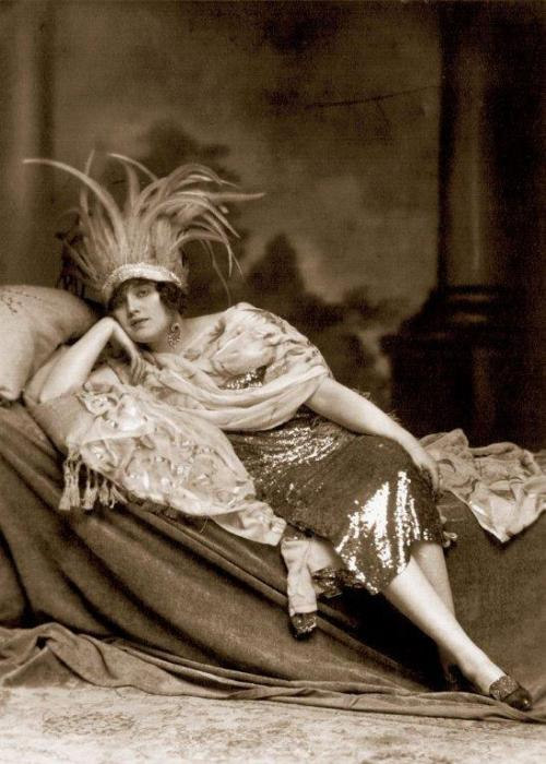 Maria Schreker as Grete in her husband's opera Der ferne Klang