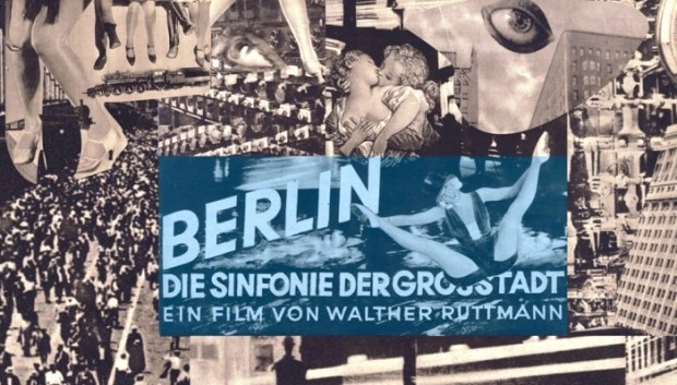 Poster for 'Berlin, the Symphony of a Great City'