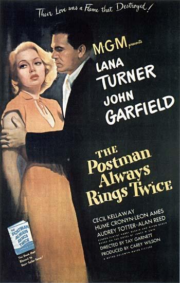 Postman Always Rings Twice - uncredited scoring by Zeisl