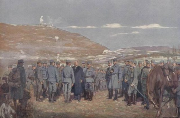 The Mayor of Vienna visits the Austro-Hungarian Army at Isonzo