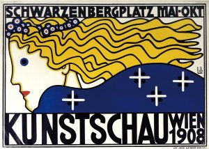 Poster for the 'Kunstschau'