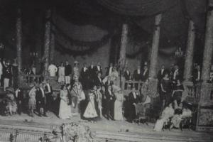 Act II in Frankfurt, 1912