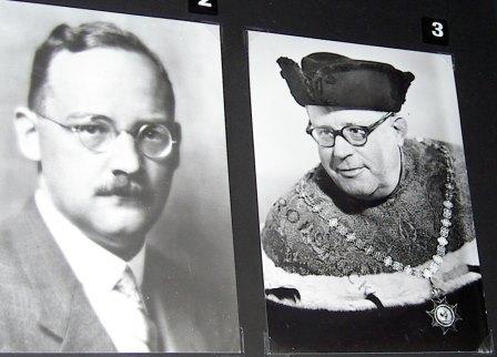 Rudolf von Ficker and Erich Schenk