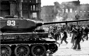 June 17th 1953 - Soviet tanks used against German demonstrators