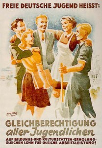 Youth Movement Poster in 1946