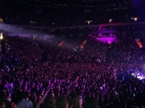 Pop music concert