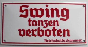 """It is forbidden to dance Swing"""