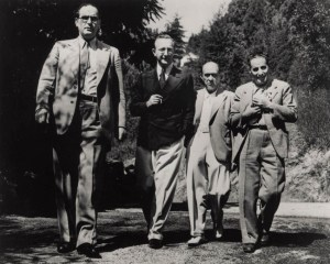A walk in the forest: Otto Klemperer, Prince Hubertus von Löwenstein, AS and Ernst Toch