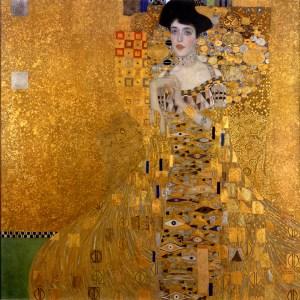 Klimt's 'Goldene Adele' the portrait of Adele Bloch-Bauer
