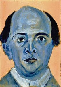 Self-portrait: Arnold Schoenberg