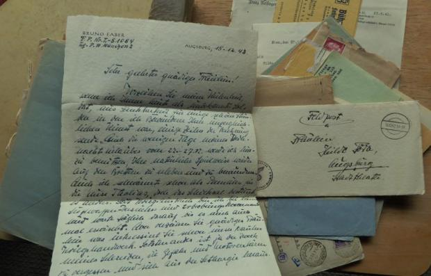 Letters from the Front to Hilde Föda