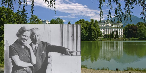 Helene Thimig, Max Reinhardt and their Schloß Leopoldskron