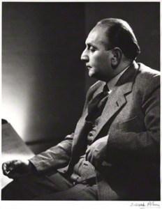 Vilem Tausky 1910 - 2004, Last pupil of Janacek: National Portrait Gallery London: Derek Allen, bromide print, 1952