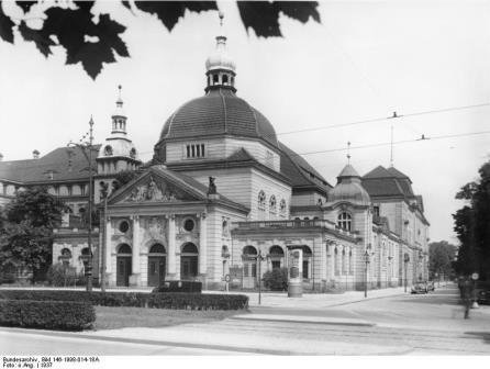 Berlin; Music Academy, or Hochschule für Musik, Hardenbergstrasse 1937