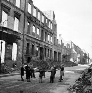 War damaged Berlin in the 1950s