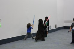 One Jedi, Two Syth. Who will win?