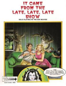 Second Edition Cover for It Came From the Late Late Late Show