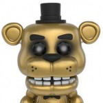 funko sdcc golden five nights at freddy's