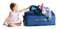 Suitcase baby