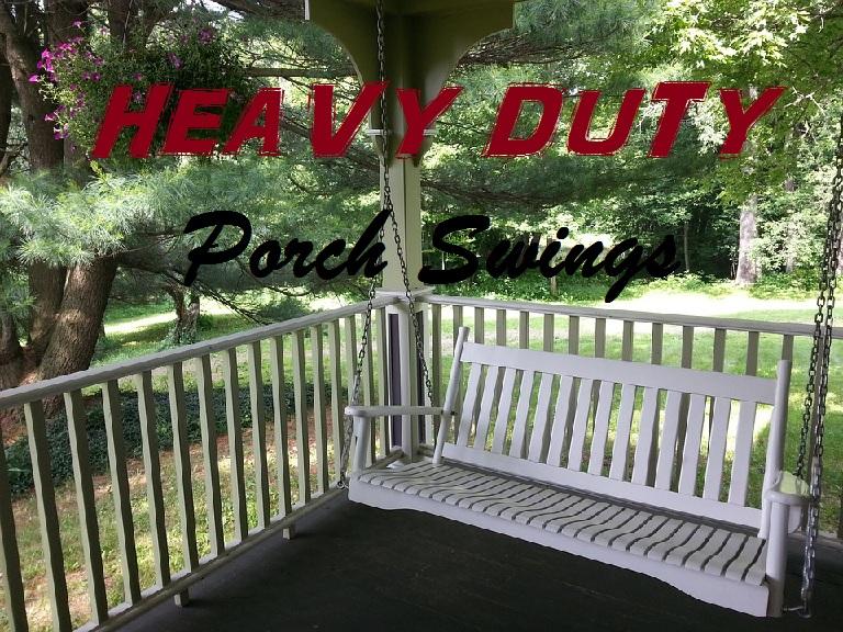 oversized heavy duty porch swings for