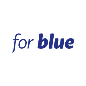 For Blue logo #forblue