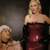 A sissy gets chastised and enslaved for life